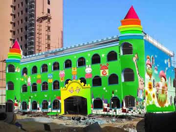 【幼儿园彩绘整体规划设计】——泌阳盘古世纪城幼儿园