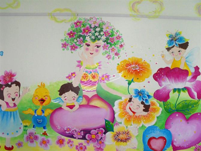 【幼儿园高端原创壁画】——商丘实验学校幼儿园