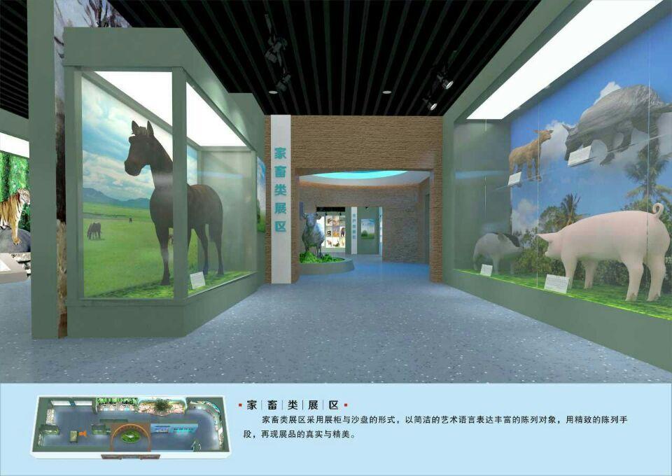 【展馆壁画项目案例】——广西柳州兽医畜牧学校