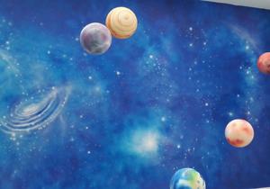 【宇宙星空彩绘项目案例】——郑州高新区爱尚科学幼儿园