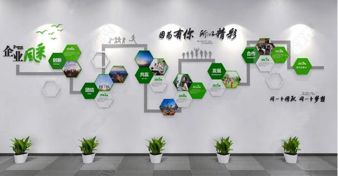 【企业文化墙】——郑州华瑞公司形象墙