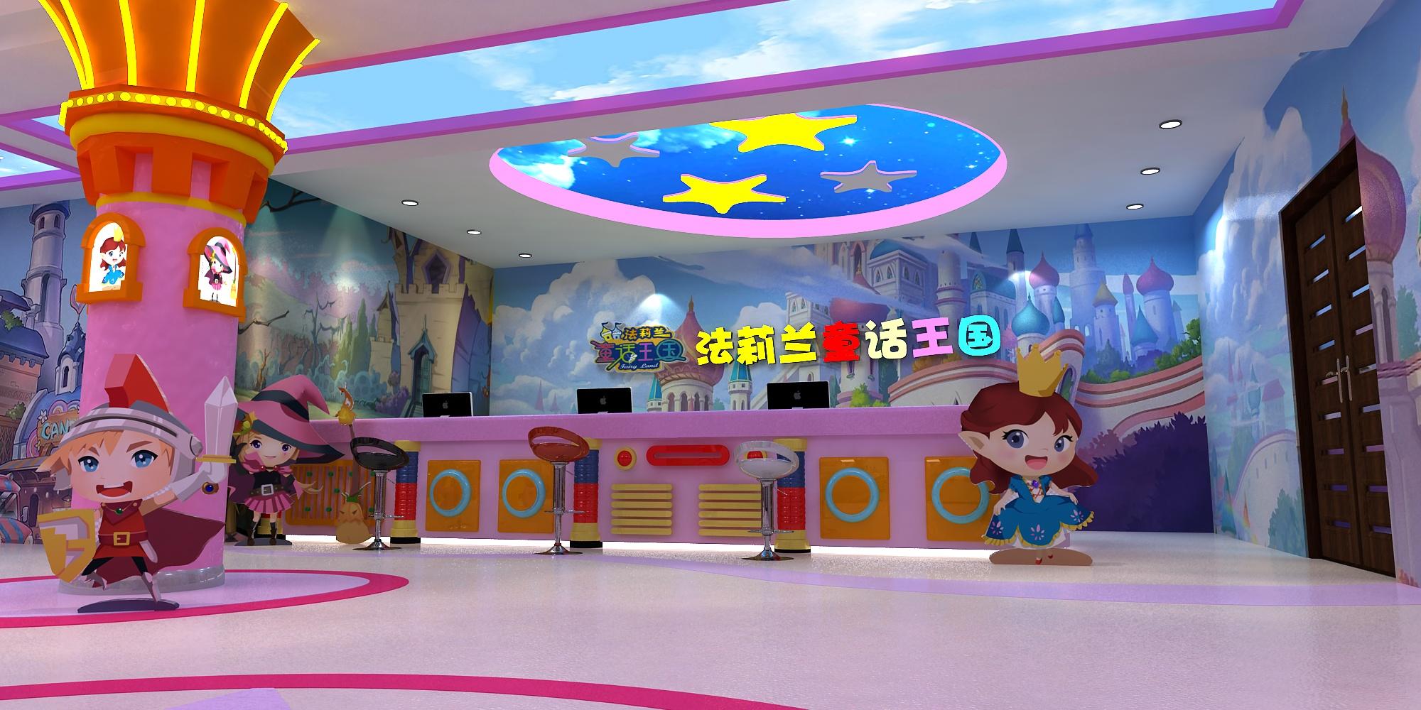 【欢乐园场景壁画项目】——郑州童话王国案例